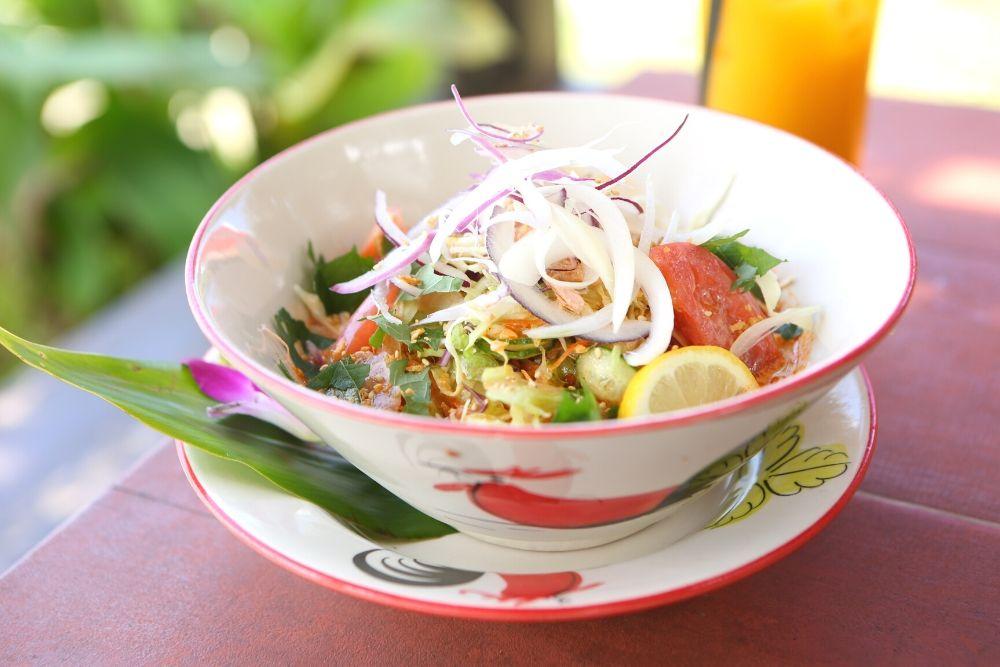 食べるラー油風味 豆乳冷麺