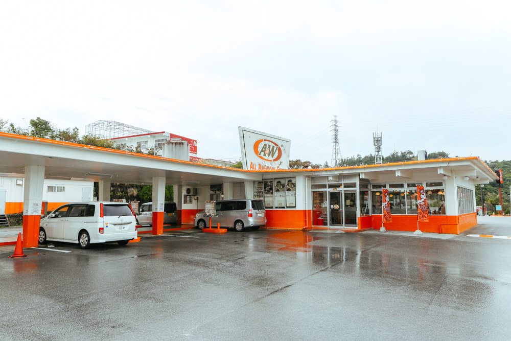 沖縄のA&W1号店