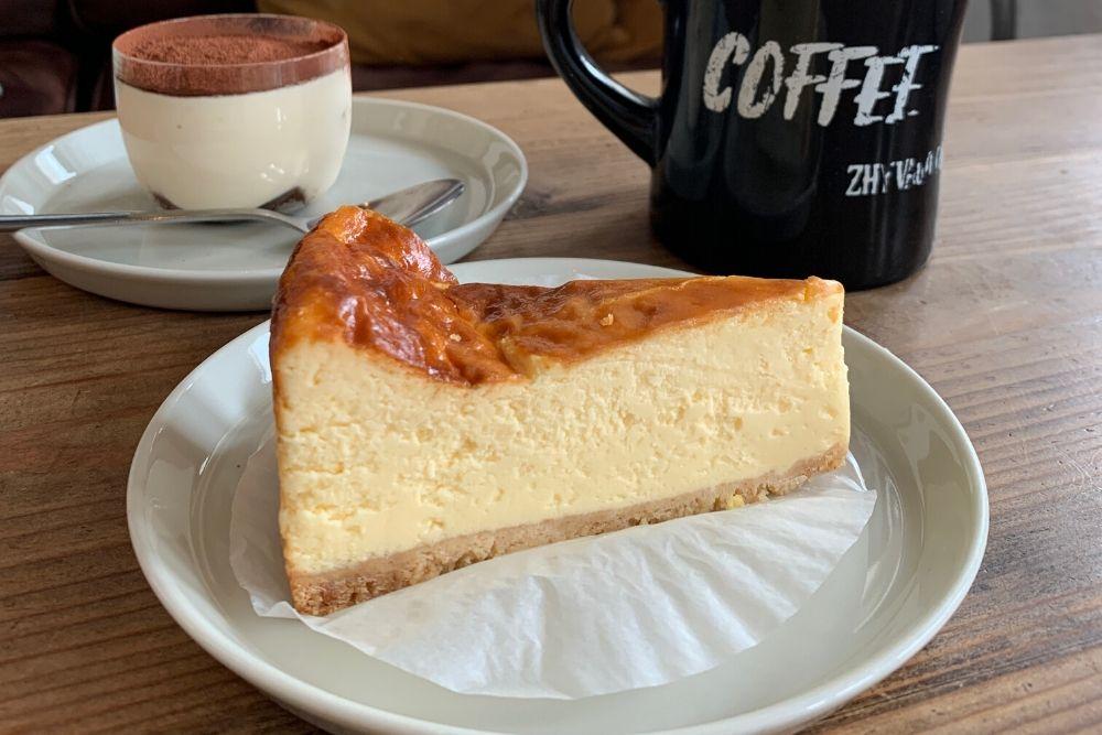 ジバゴコーヒーのケーキ
