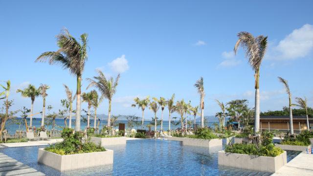 フサキビーチリゾートホテル&ヴィラズ石垣島のアクアガーデン