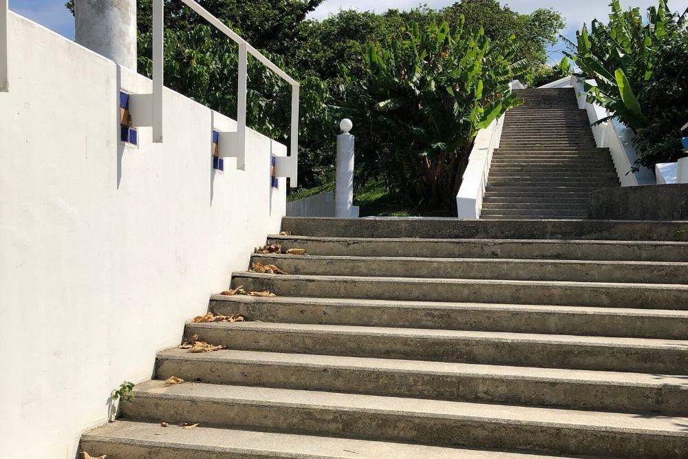 もとぶ元気村階段