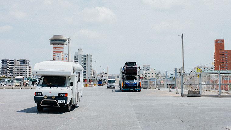 沖縄車両輸送
