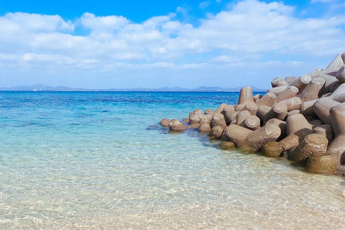 透明で水質が良い海