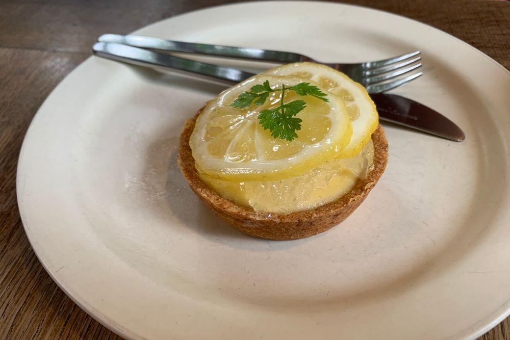 レモンのチーズタルト