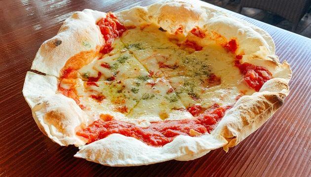 グラパチーナのピザ
