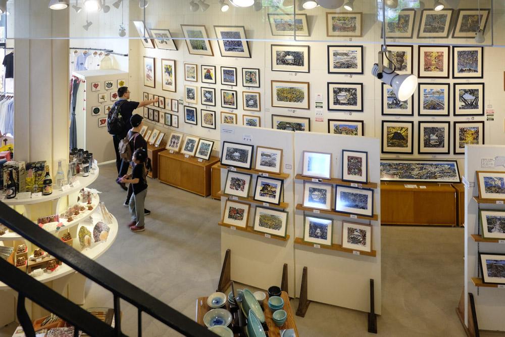 ボクネンの作品展示 アカラギャラリー