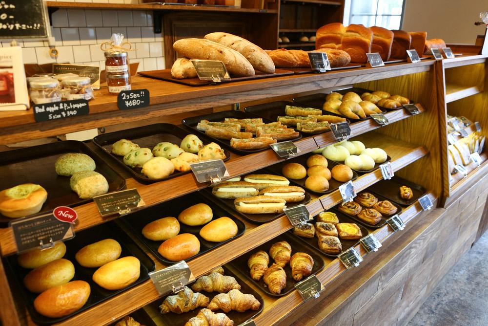 オハコルテベーカリーのパン