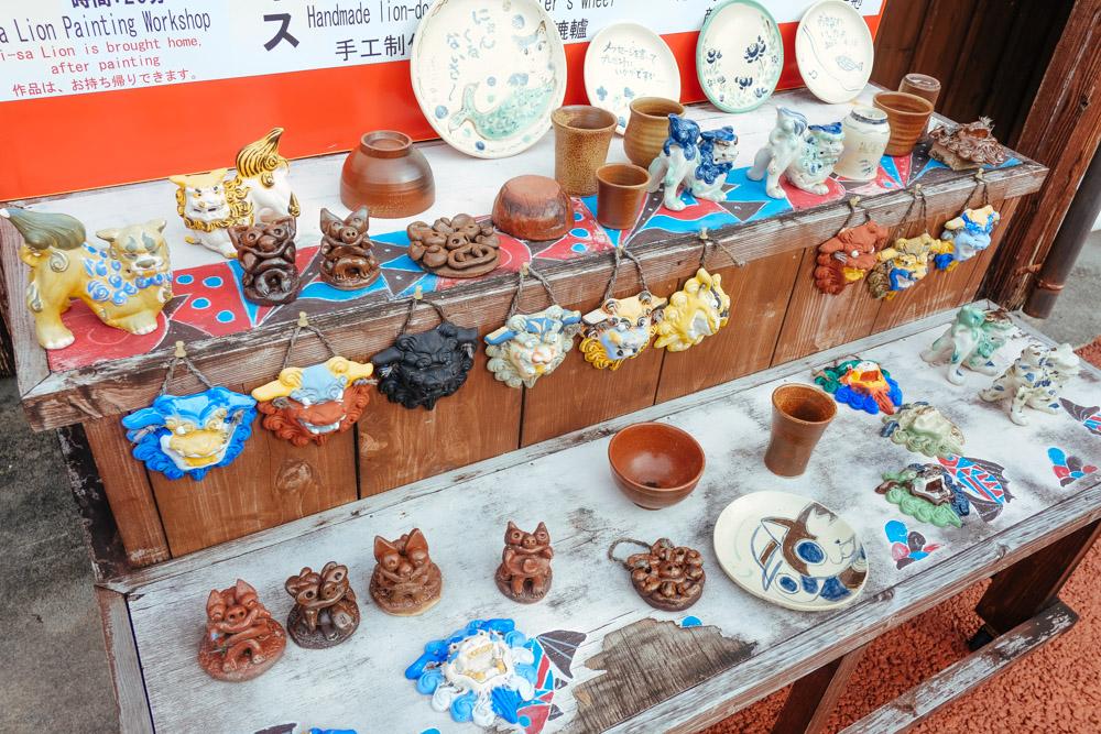 陶芸の作品 沖縄ワールド