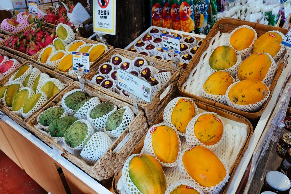 南国のフルーツ