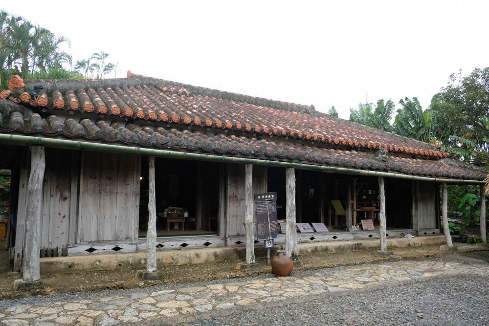 琉球村の古民家
