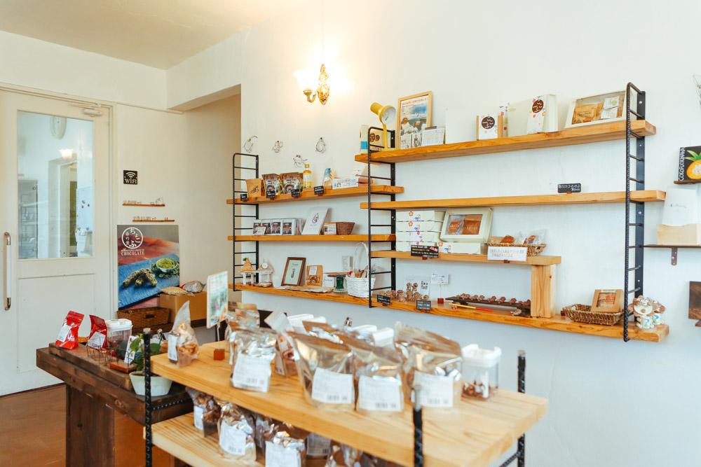京都のお麩を使用したお菓子のお店