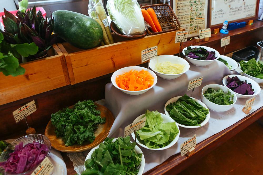 野菜は好きなものを選べる