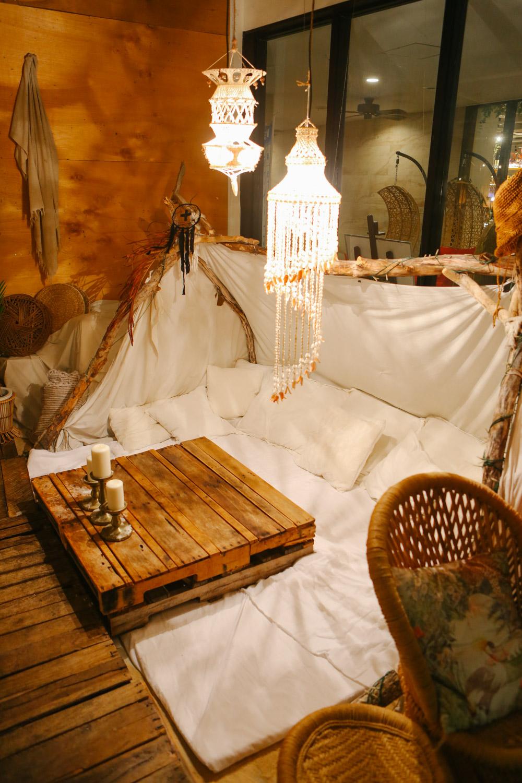 ジャングリラカフェ沖縄のテント