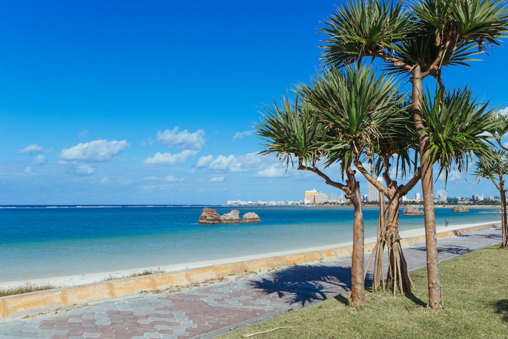 アラハビーチは撮影の名所