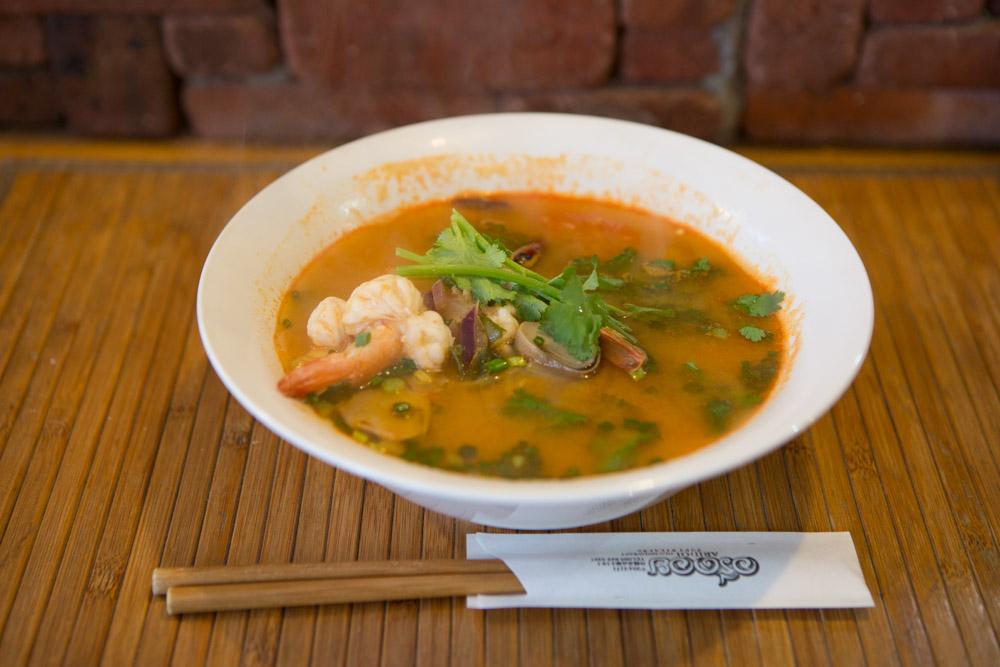 アリドイタイレストランのトムヤムクン