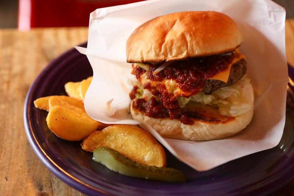 北谷のハンバーガー屋・ゴーディーズ