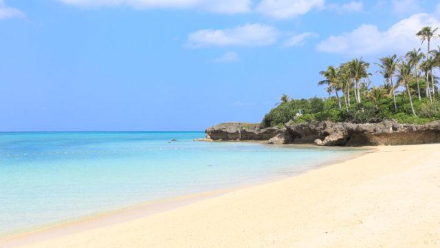 恩納村のムーンビーチ
