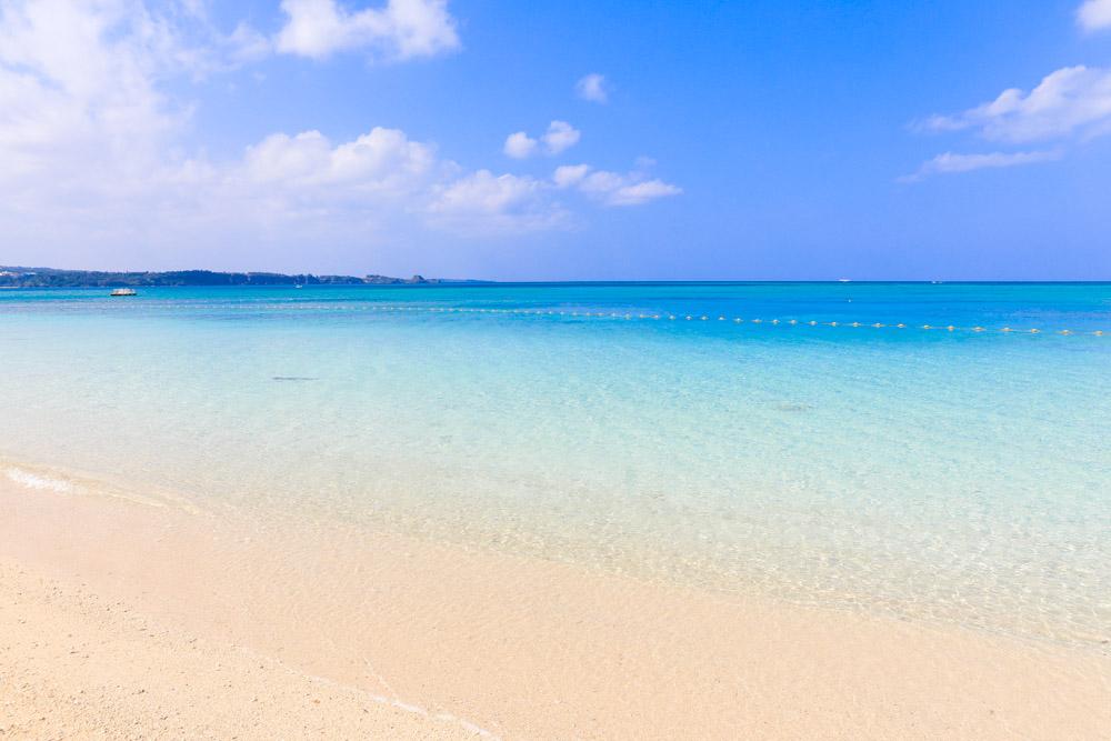 水質が良いムーンビーチ