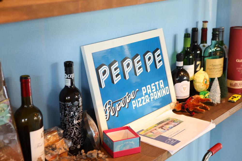 PEPEPEの看板
