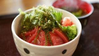 海中茶屋の海鮮丼ランチ