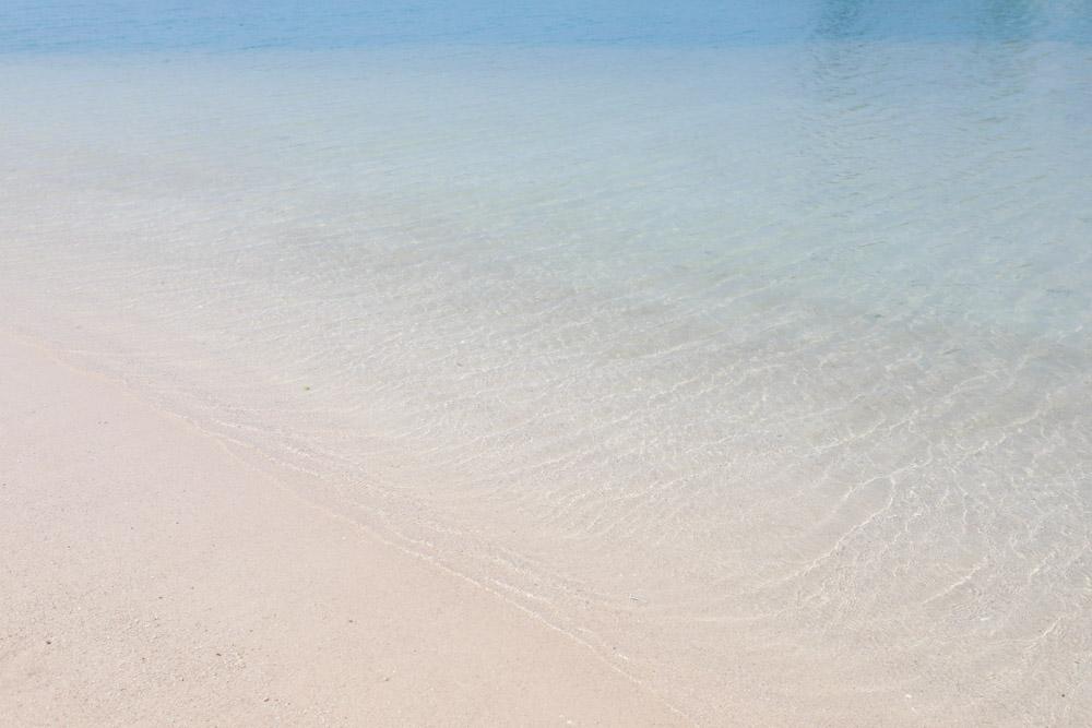 美々ビーチの水質