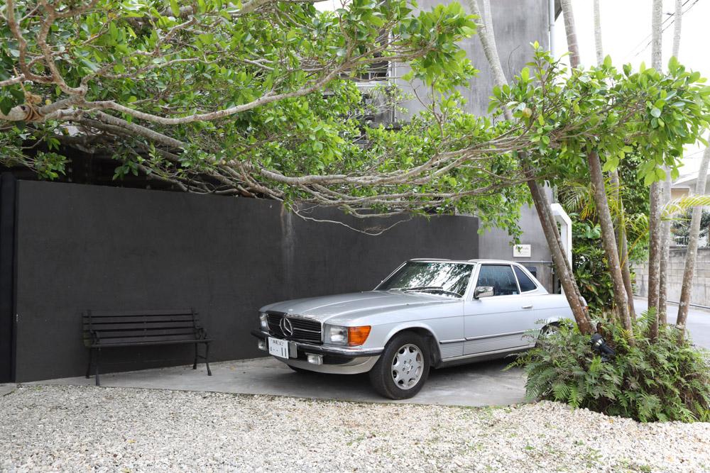フルカフェの駐車場