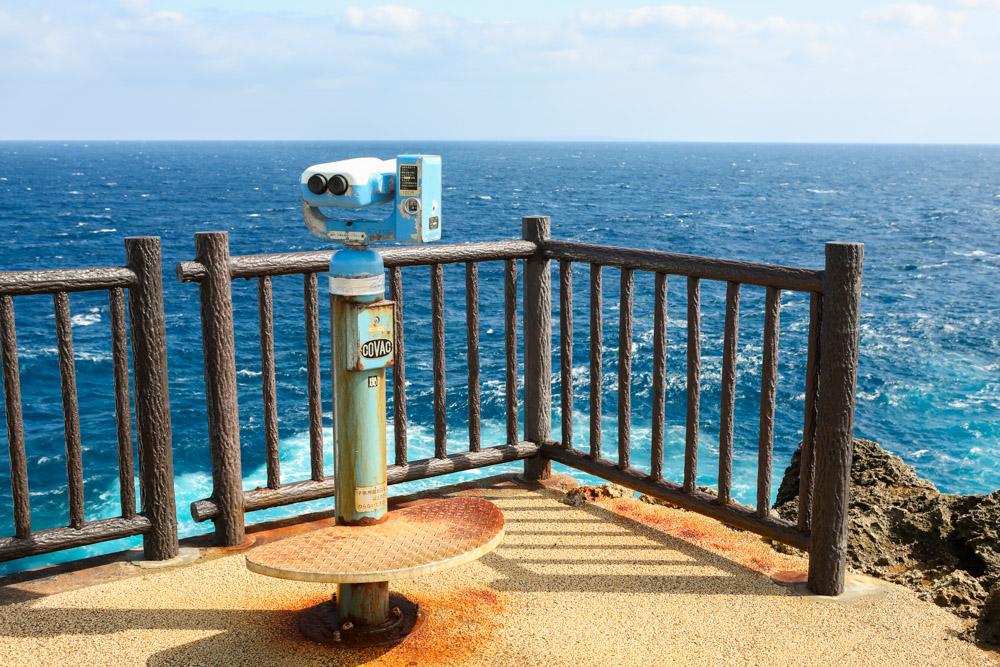コイン式の望遠鏡