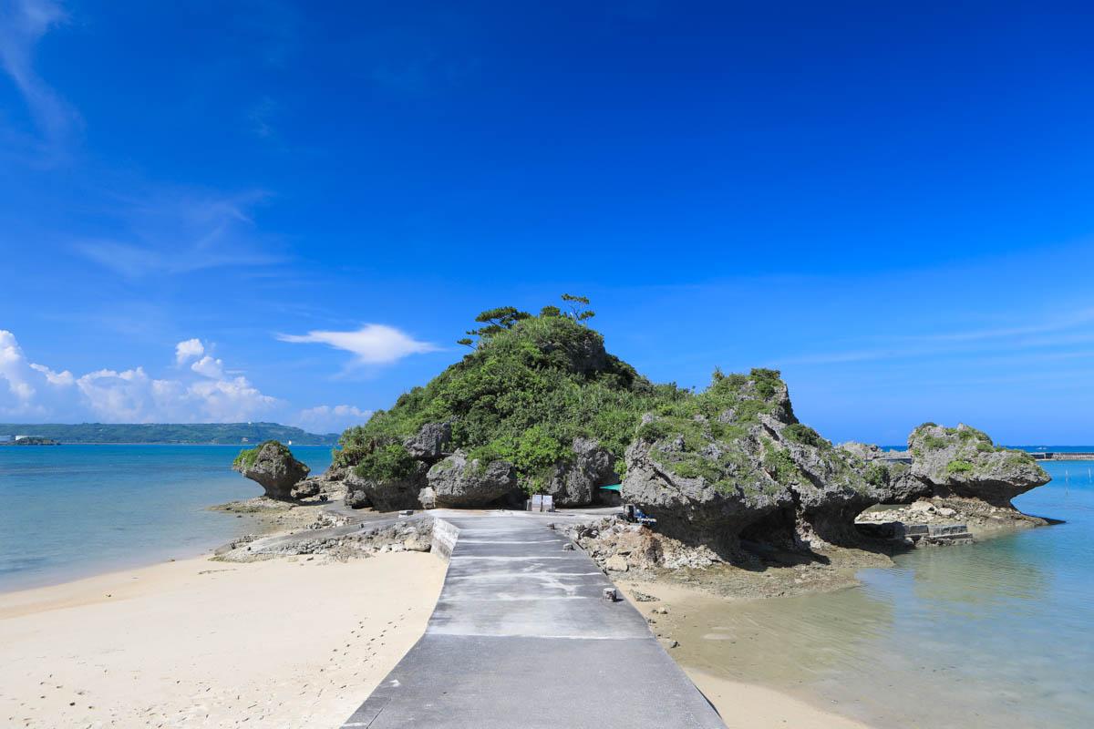 沖縄 浜比嘉島