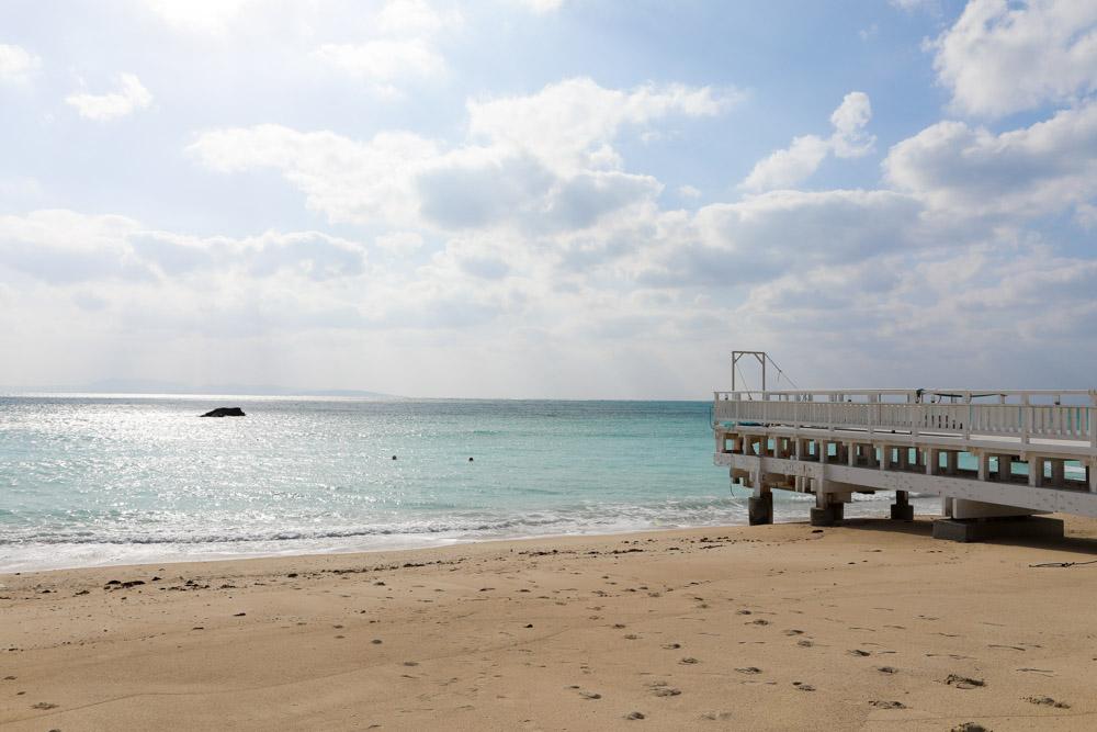 幸せの鐘の桟橋