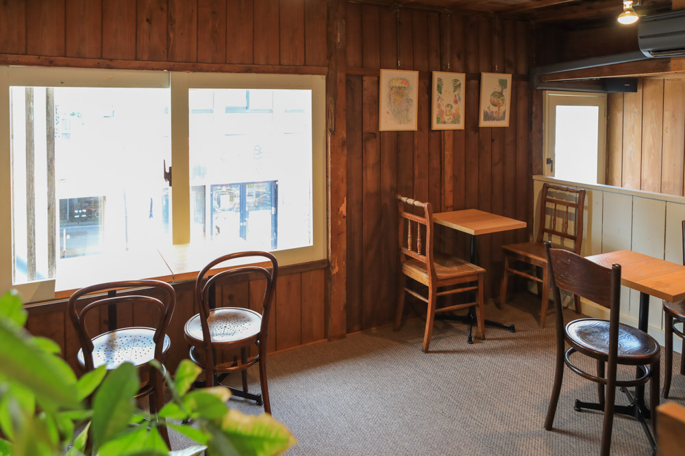 T&Mコーヒーの2階席