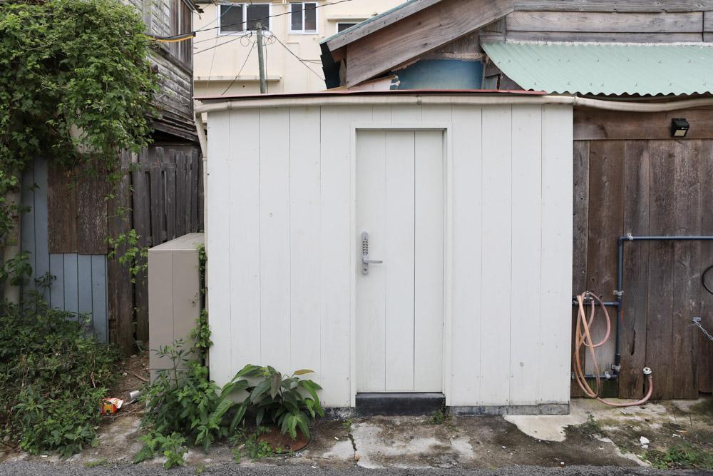 店舗外のトイレ