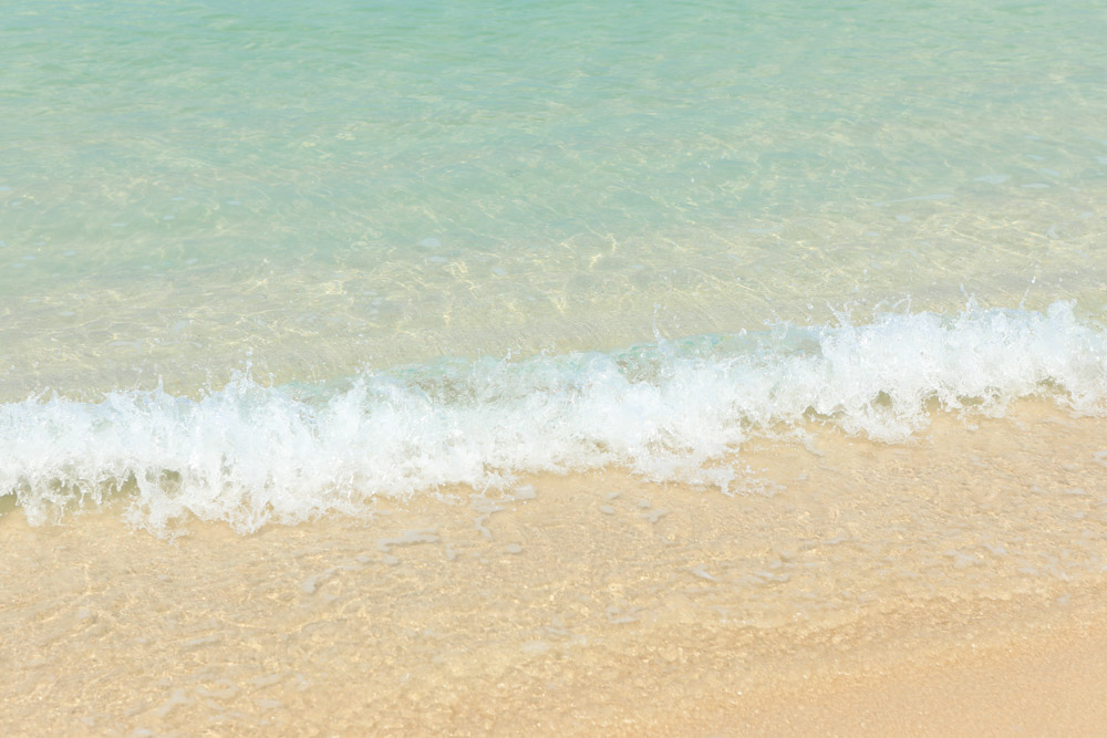 透明な海水