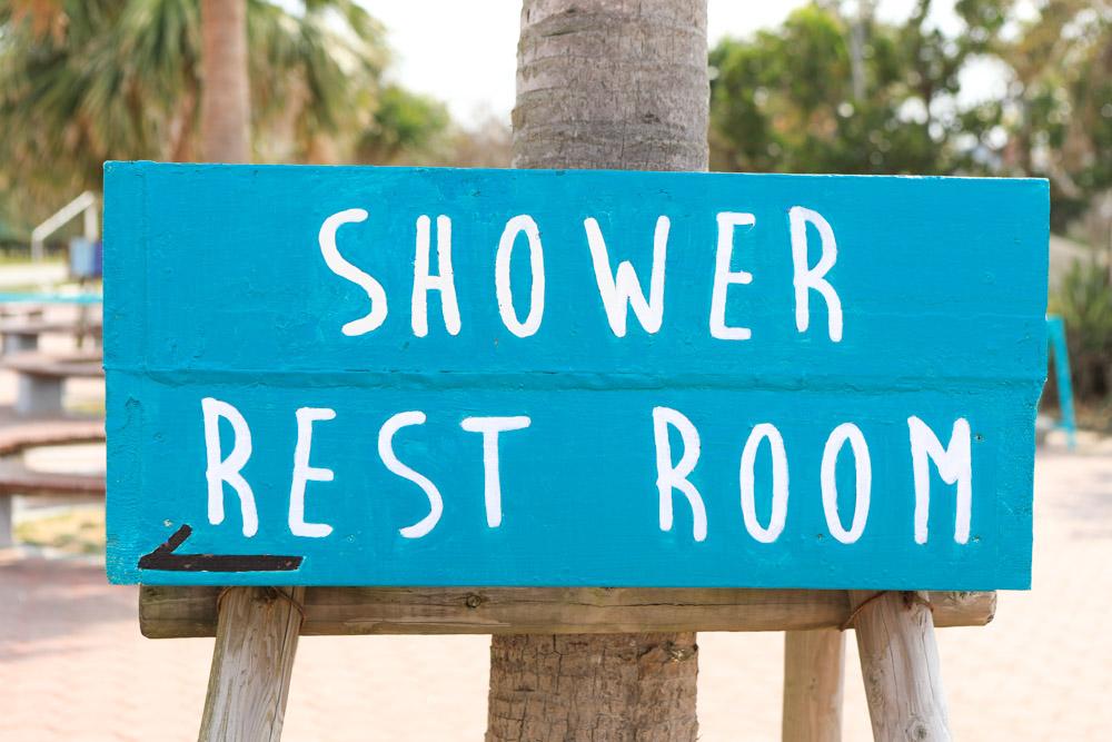 トロピカルビーチのトイレ・シャワー