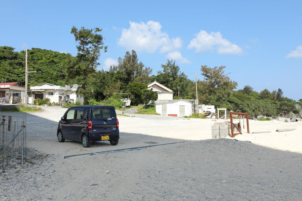アンチ浜の駐車場