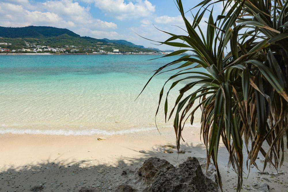 穴場感のあるビーチ