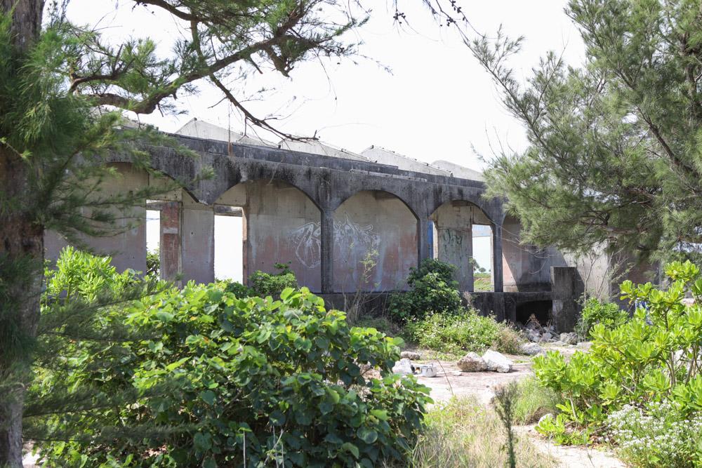 奥武島の廃墟