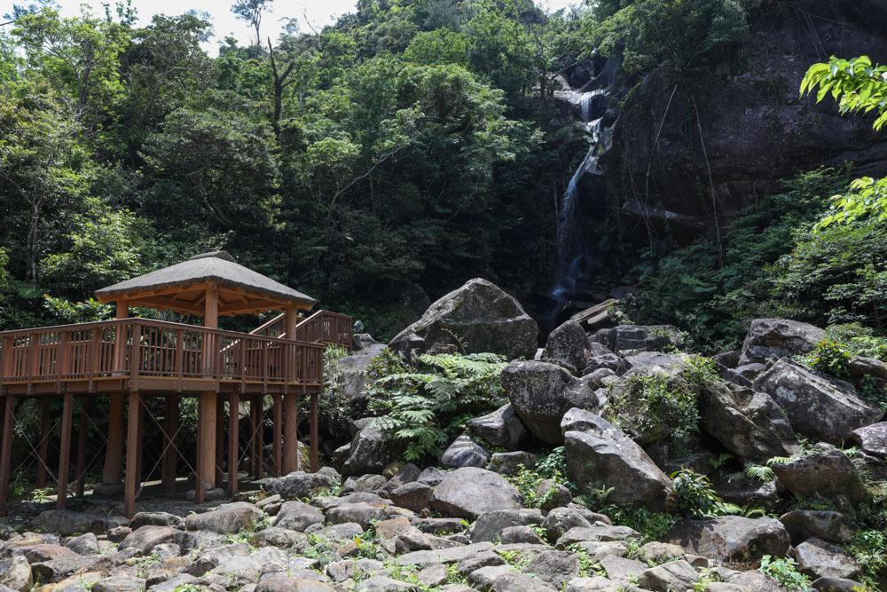 沖縄 轟の滝