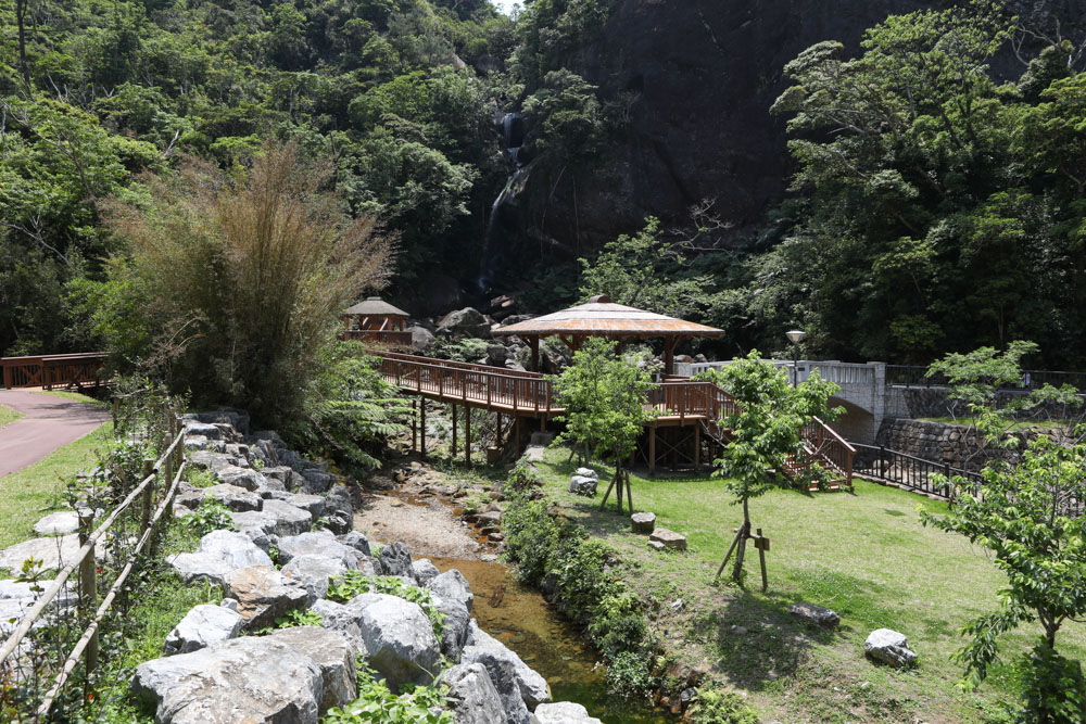 轟の滝 川