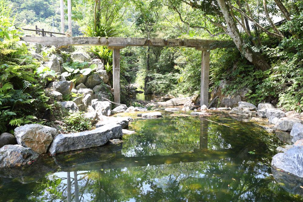轟の滝の用水路
