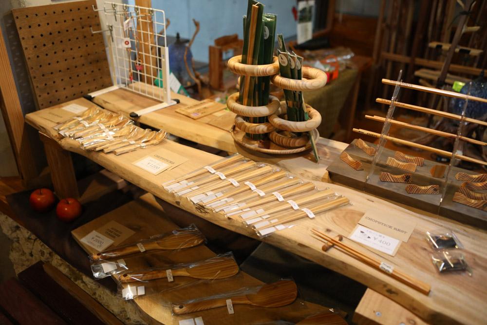 やんばるの木工品