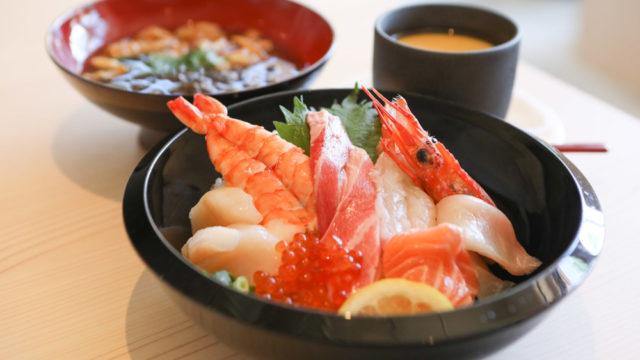 北谷でおいしい寿司が食べれる北海素材