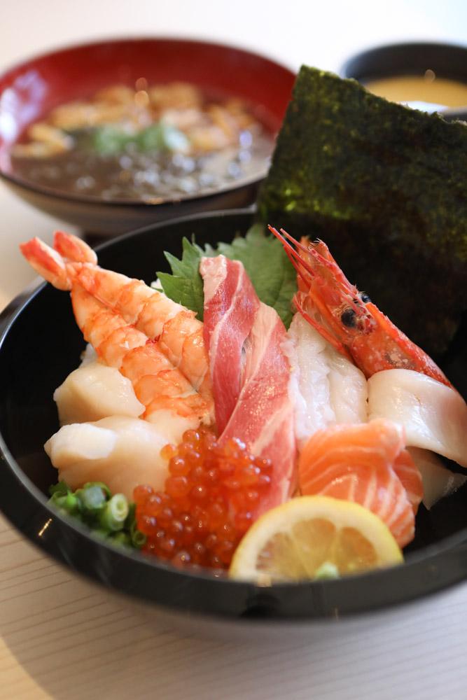 贅沢海鮮丼セット