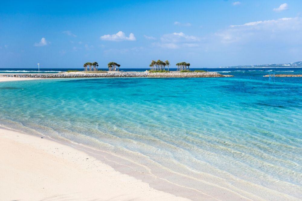美ら海水族館に近いビーチ