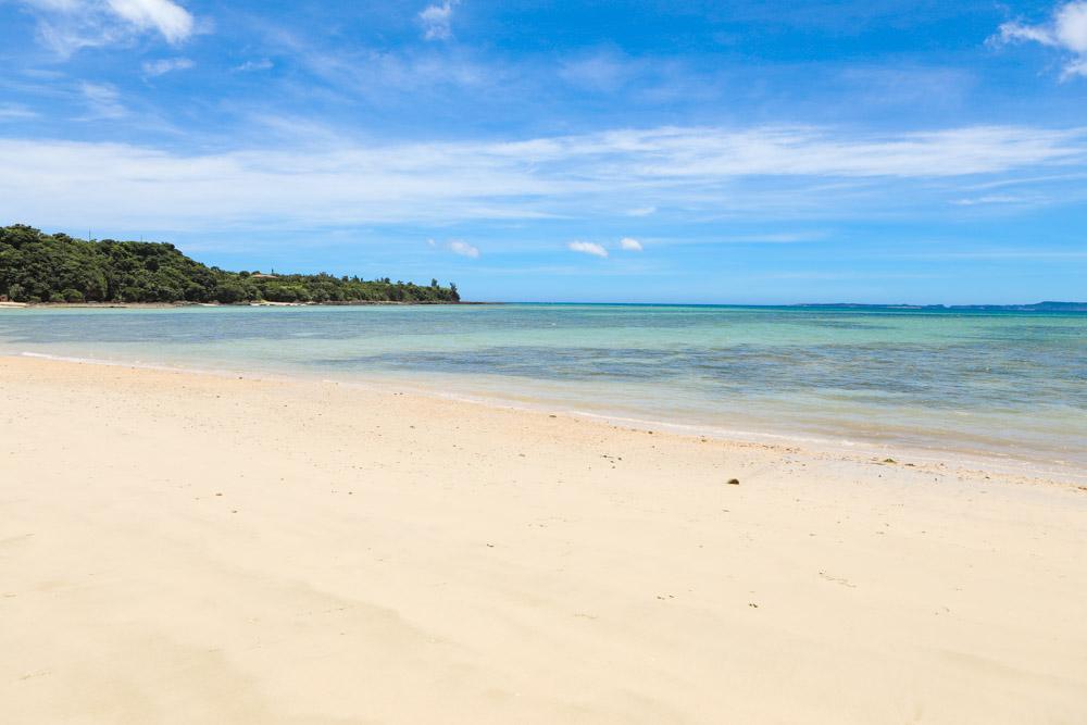 沖縄北部の静かなビーチ