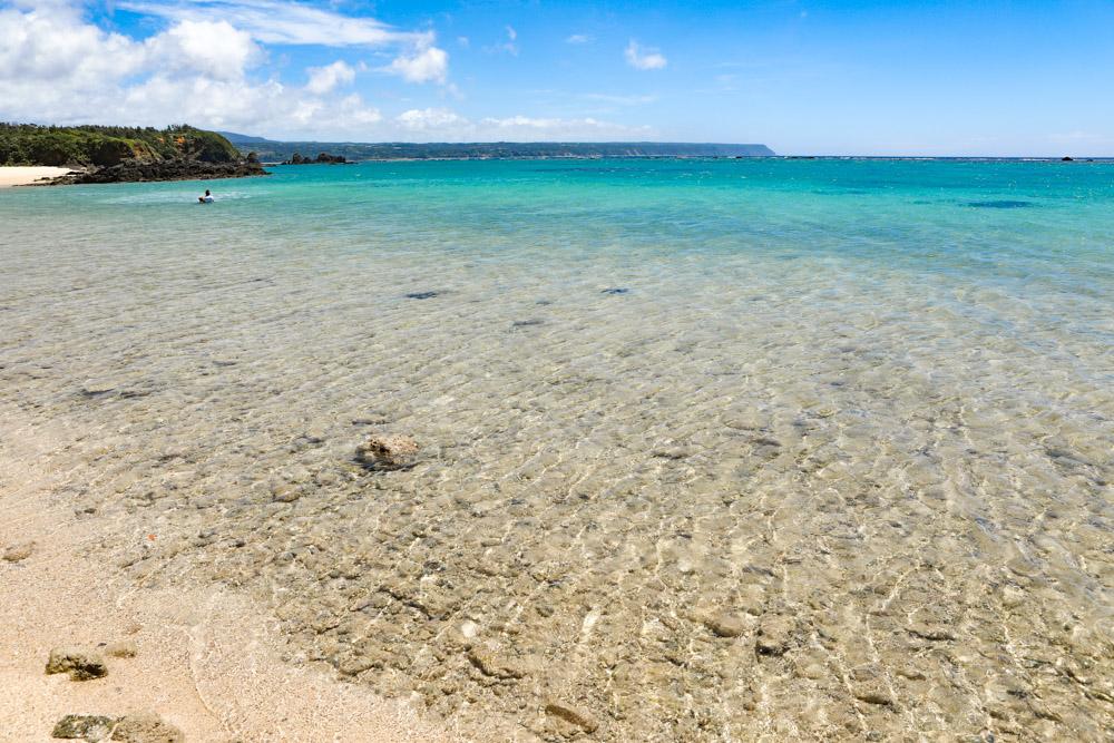 沖縄北部にあるウッパマビーチ