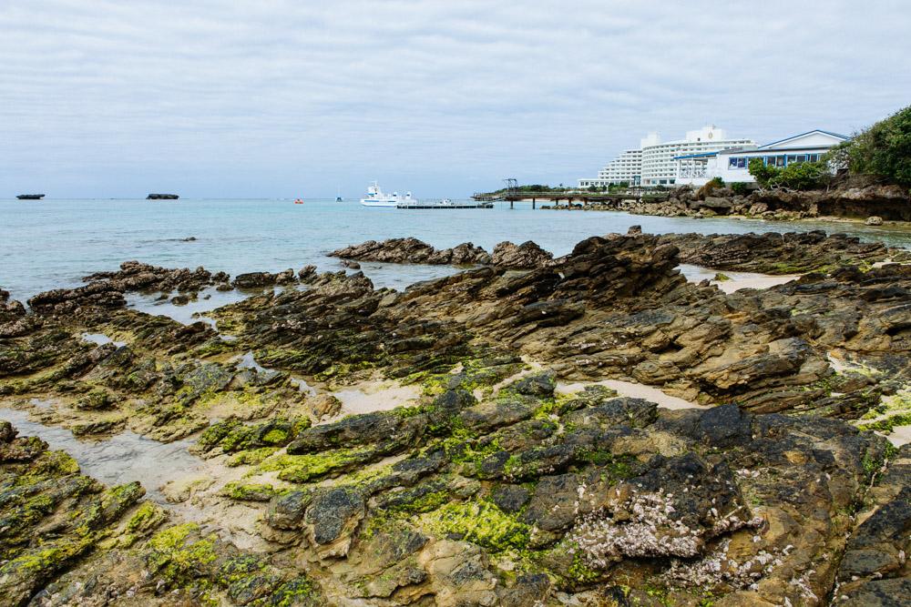 自然が残されているビーチ