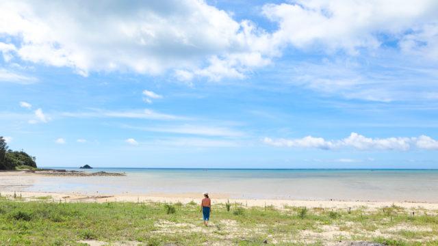 名護市のサンドダラービーチ
