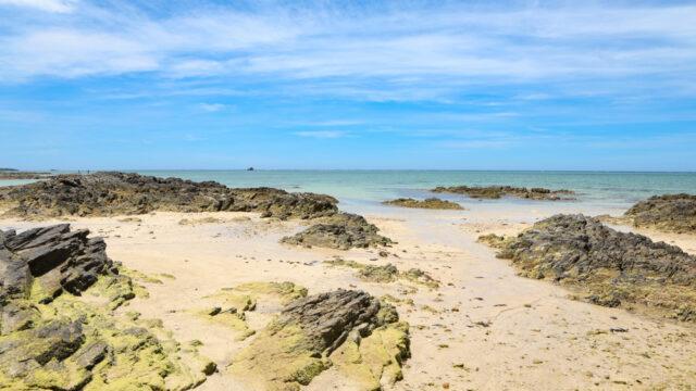 沖縄のシーグラスビーチ