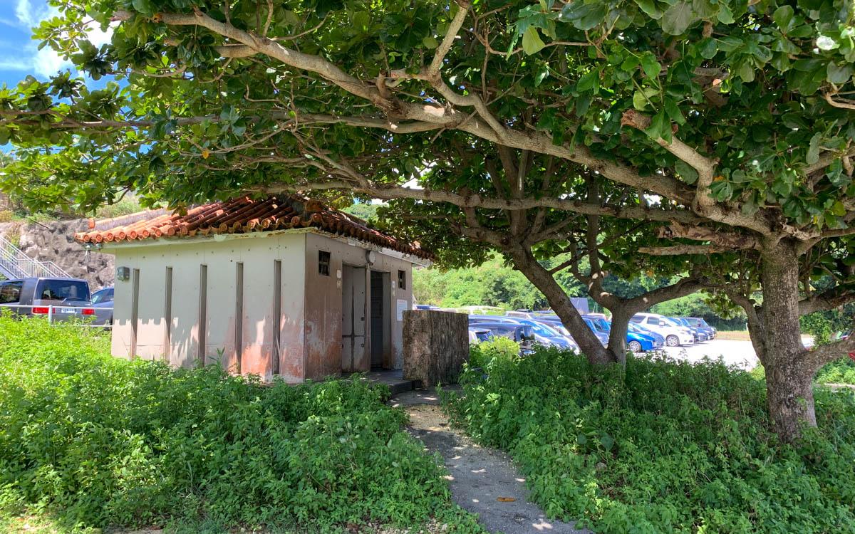 ジョン万次郎ビーチのトイレ