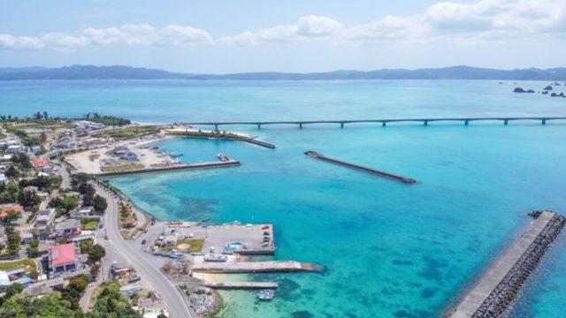 人気の観光スポット・古宇利島
